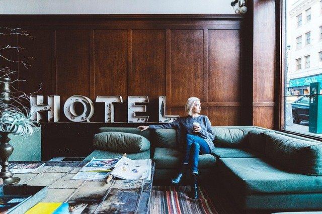 salle lounge hôtel